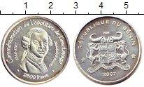 Изображение Монеты Бенин 2.500 франков 2007 Серебро UNC- Освобождение  от  ра