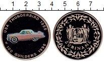 Изображение Монеты Суринам 100 гульденов 1996 Медно-никель Proof-