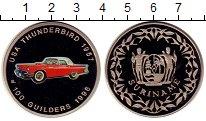 Изображение Монеты Суринам 100 гульденов 1996 Медно-никель Proof
