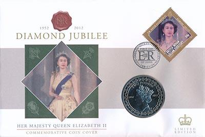Изображение Подарочные наборы Британско - Индийские океанские территории 2 фунта 2012 Медно-никель UNC Монета номиналом 2 ф