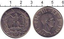 Изображение Монеты Италия 2 лиры 1939 Железо XF