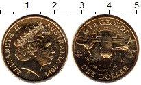 Изображение Монеты Австралия 1 доллар 2014 Латунь BUNC Самолёт. G.
