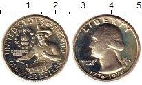 Изображение Монеты США 1/4 доллара 1976 Серебро Proof- 200  лет  независимо