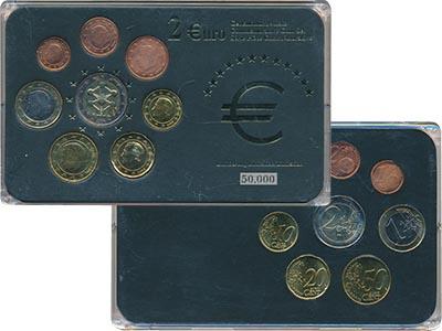 Изображение Подарочные наборы Бельгия Набор евромонет 0  UNC