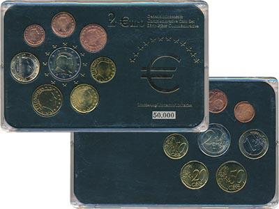 Изображение Подарочные наборы Люксембург Набор евромонет 0  UNC
