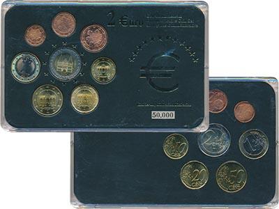 Изображение Подарочные наборы Германия Набор евромонет 0  UNC