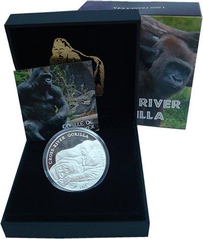 Изображение Подарочные наборы Камерун 1.000 франков 2013 Серебро Proof Монета посвящена Реч