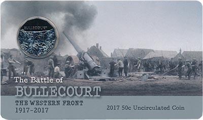 Изображение Подарочные монеты Австралия 50 центов 2017 Медно-никель UNC `Монета из серии ``П
