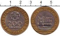 Изображение Монеты Португалия 200 эскудо 1994 Биметалл XF