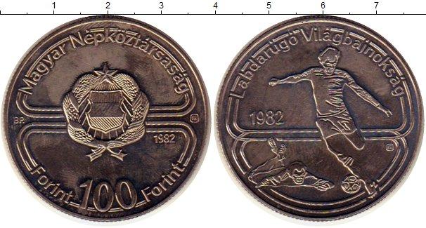Картинка Монеты Венгрия 100 форинтов Медно-никель 1982