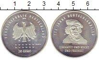 Изображение Монеты Германия 20 евро 2016 Серебро UNC- 175  лет  Германии