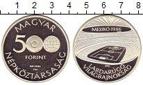 Изображение Монеты Венгрия 500 форинтов 1986 Серебро Proof