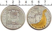 Изображение Монеты Андорра 10 динерс 2008 Серебро UNC