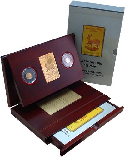 Изображение Подарочные монеты Малави Инвестиционный набор 2009 г, 2009  Proof В набор входят две м
