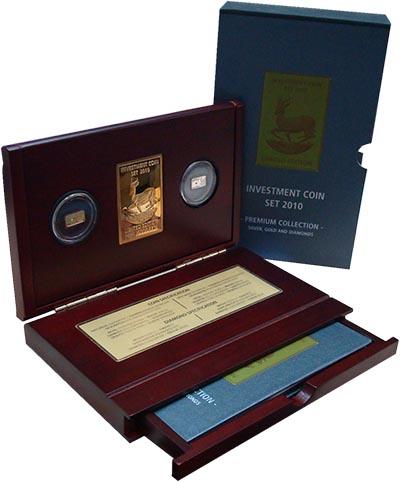 Изображение Подарочные монеты Малави Инвестиционный набор 2010 г, 2010  Proof В набор входят две м