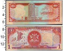 Изображение Банкноты Тринидад и Тобаго 1 доллар 2006  XF