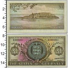 Изображение Боны Гернси 1 фунт 0  XF