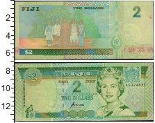 Изображение Банкноты Фиджи 2 доллара 0  XF