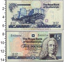 Изображение Банкноты Шотландия 5 фунтов 1989  XF
