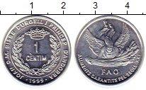 Изображение Монеты Андорра 1 сентим 1999 Алюминий UNC-