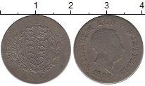 Изображение Монеты Германия Вюртемберг 6 крейцеров 1826 Серебро VF
