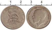 Изображение Монеты Великобритания 1 шиллинг 1922 Серебро VF