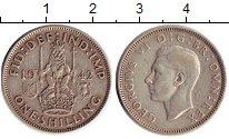 Изображение Монеты Великобритания 1 шиллинг 1942 Серебро XF Георг VI.  Шотландск