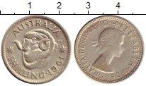 Изображение Монеты Австралия 1 шиллинг 1961 Серебро XF