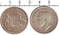 Изображение Монеты Австралия 1 флорин 1944 Серебро XF Георг VI