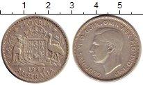Изображение Монеты Австралия 1 флорин 1947 Серебро XF