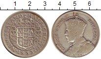 Изображение Монеты Новая Зеландия 1/2 кроны 1933 Серебро XF