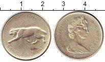 Изображение Монеты Канада 25 центов 1967 Серебро UNC-