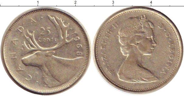 25 центов канада 1968 созвездие городов