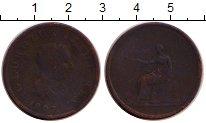 Изображение Монеты Великобритания 1/2 пенни 1807 Медь VF