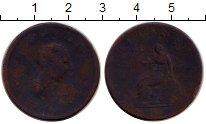 Изображение Монеты Великобритания 1/2 пенни 1806 Медь VF