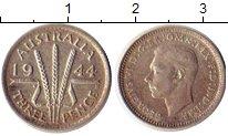Изображение Монеты Австралия 3 пенса 1944 Серебро XF