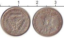 Изображение Монеты ЮАР 3 пенса 1932 Серебро XF