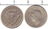 Изображение Монеты ЮАР 3 пенса 1941 Серебро XF