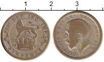 Изображение Монеты Великобритания 6 пенсов 1929 Серебро VF