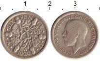 Изображение Монеты Великобритания 6 пенсов 1929 Серебро XF