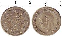 Изображение Монеты Великобритания 6 пенсов 1930 Серебро VF