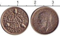 Изображение Монеты Великобритания 3 пенса 1930 Серебро XF