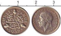 Изображение Монеты Великобритания 3 пенса 1932 Серебро XF