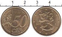 Изображение Монеты Финляндия 50 евроцентов 2011 Латунь UNC- Финский лев
