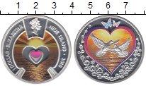 Изображение Монеты Ниуэ 1 доллар 2010 Серебро Proof Цифровая  печать.  Е