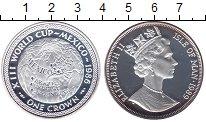 Изображение Монеты Остров Мэн 1 крона 1989 Серебро Proof-