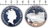 Изображение Монеты Острова Кука 1 доллар 2004 Серебро Proof