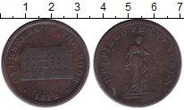 Изображение Монеты Великобритания 1 пенни 1812 Медь VF