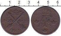 Изображение Монеты Швеция 1 эре 1761 Медь VF