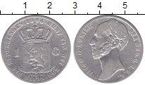 Изображение Монеты Нидерланды 1 гульден 1846 Серебро VF